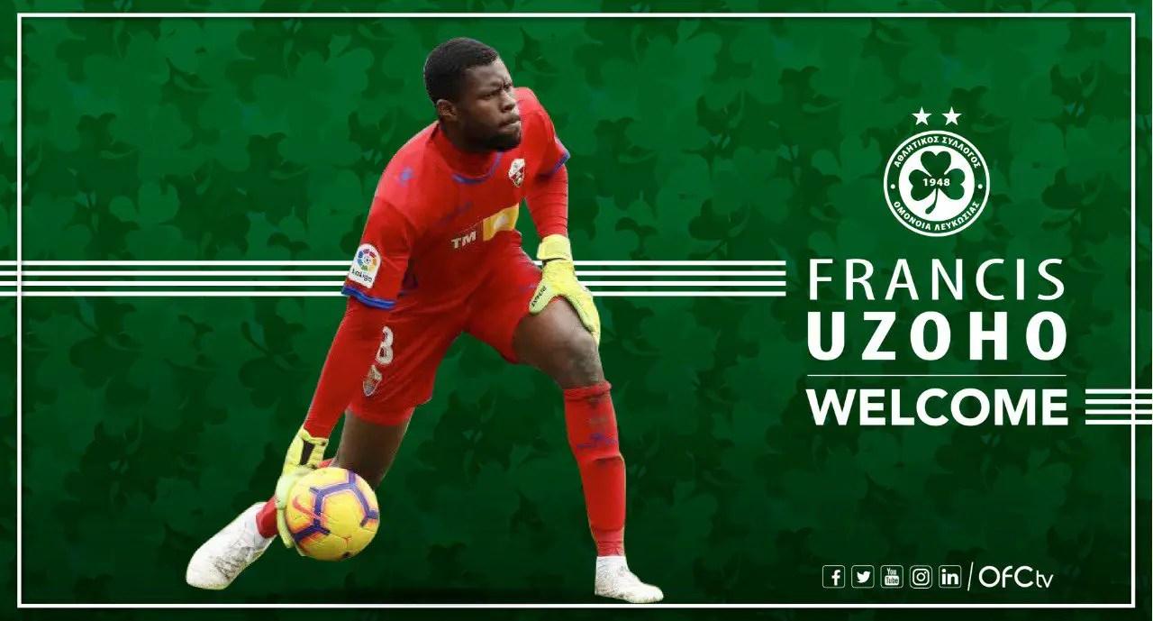 Uzoho Joins Cypriot Club Omonia On One-Season Loan From La Coruna