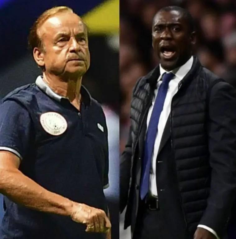 Nigeria Vs Cameroon: Rohr, Seedorf Similarities Headline Battle Of Archrivals