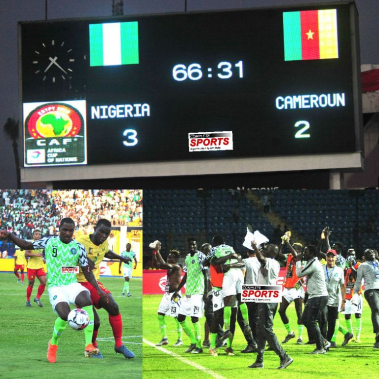 Boastful Cameroonian Journalists Shun Post-Match Presser After Lions Defeat To Eagles