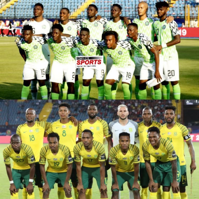 AFCON 2019: Super Eagles – Bafana Q-Final Clash Live On SuperSport
