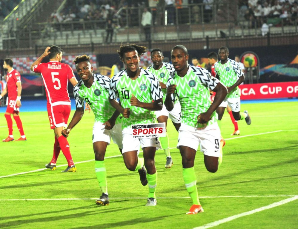 Ighalo's Goal Downs Tunisia For Super Eagles' 8th AFCON Bronze Medal