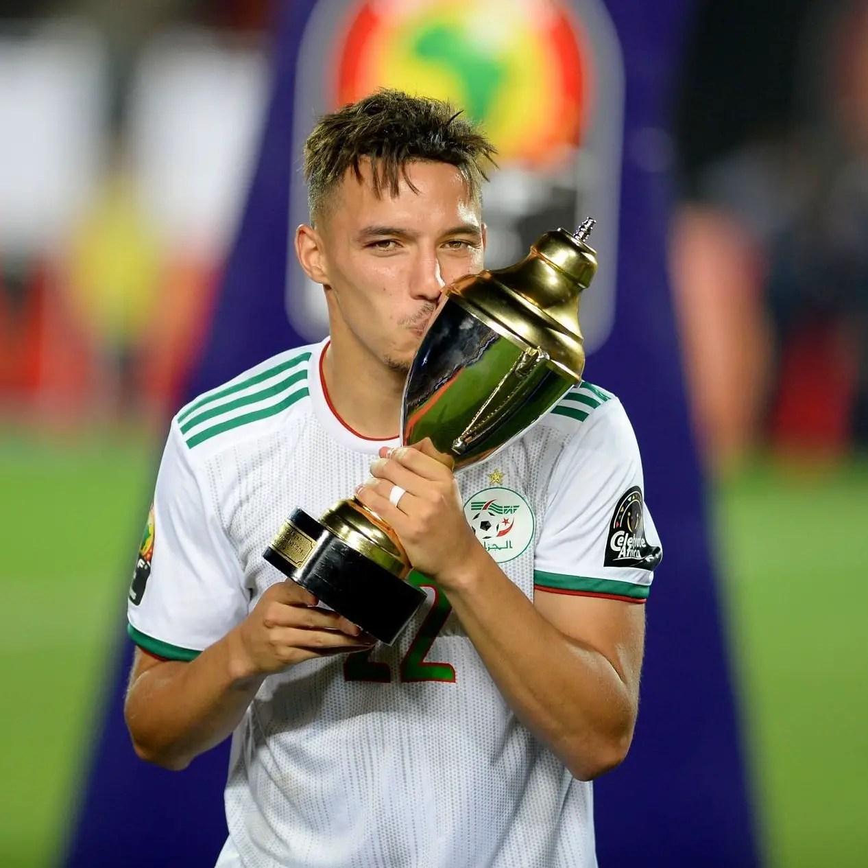AFCON 2019: Algeria Midfielder Bennacer Wins MVP Award