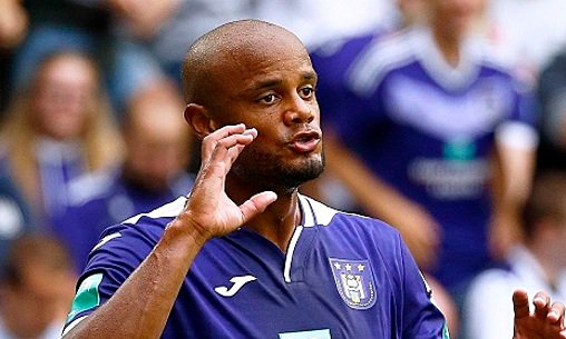 Kompany Loses First Match As Anderlecht Coach/Player