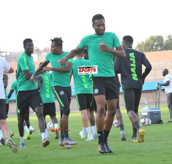 Heavy Cairo Traffic Forces Super Eagles To Change Training Avenue