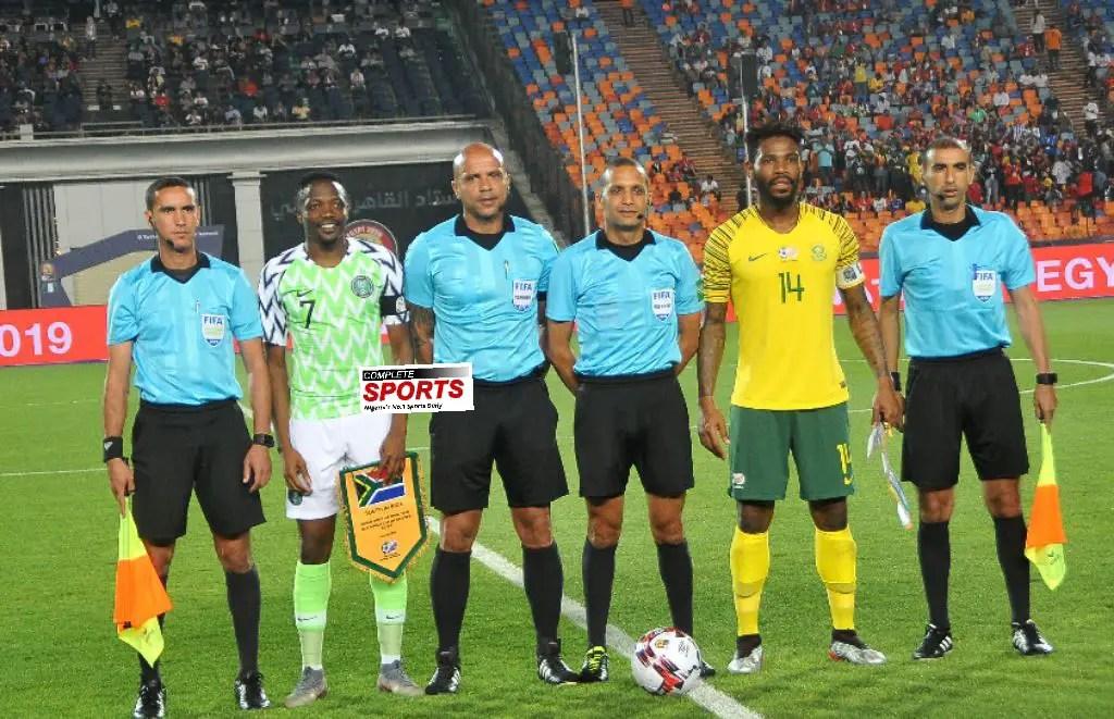 Musa: Win Against Bafana Bafana Good For Super Eagles