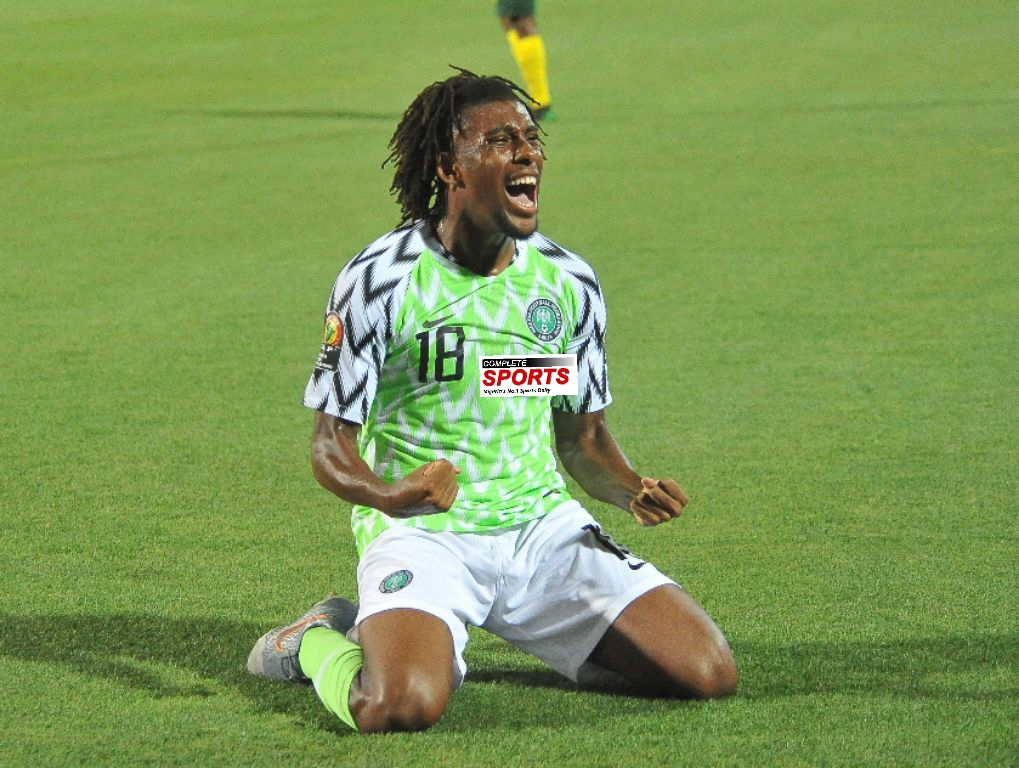 Iwobi: Top Cameroon, South Africa Games Have Toughened Eagles For Tasks Ahead