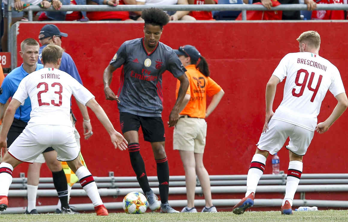 Ebuehi Plays 2nd Pre-Season Game For Benfica, Declares: 'Happy I'm Back, Close To Full Fitness'