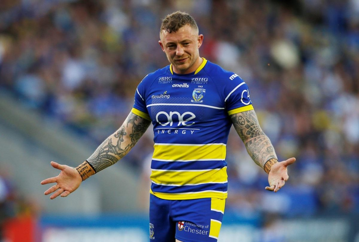 Charnley Extends Warrington Stay