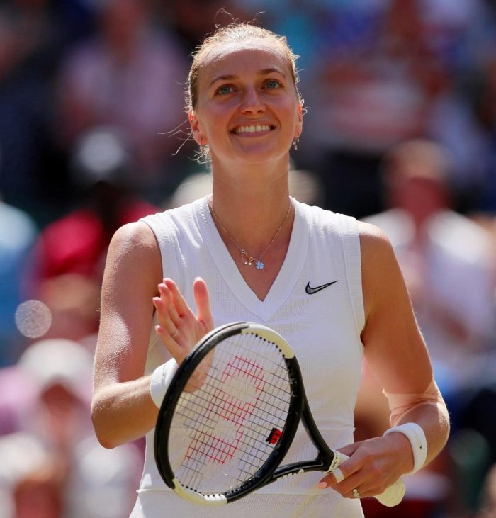 Kvitova Eases Into Fourth Round