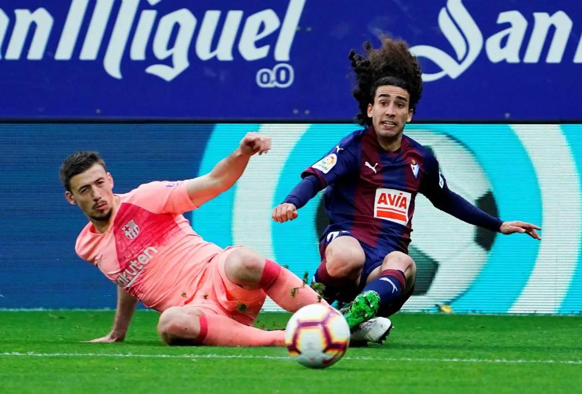 Wing-back Cucurella Rejoins Barca