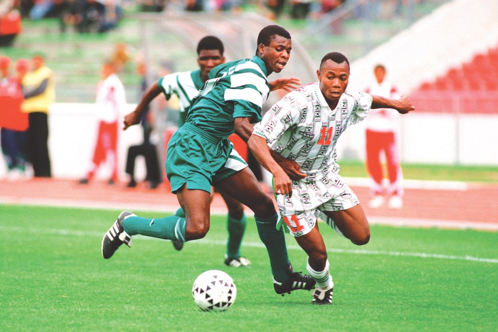 Four Memorable Nigerian National Football Teams' Matches