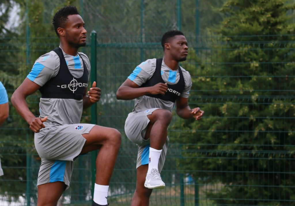 Mikel Starts Training With Trabzonspor After Successful Medical