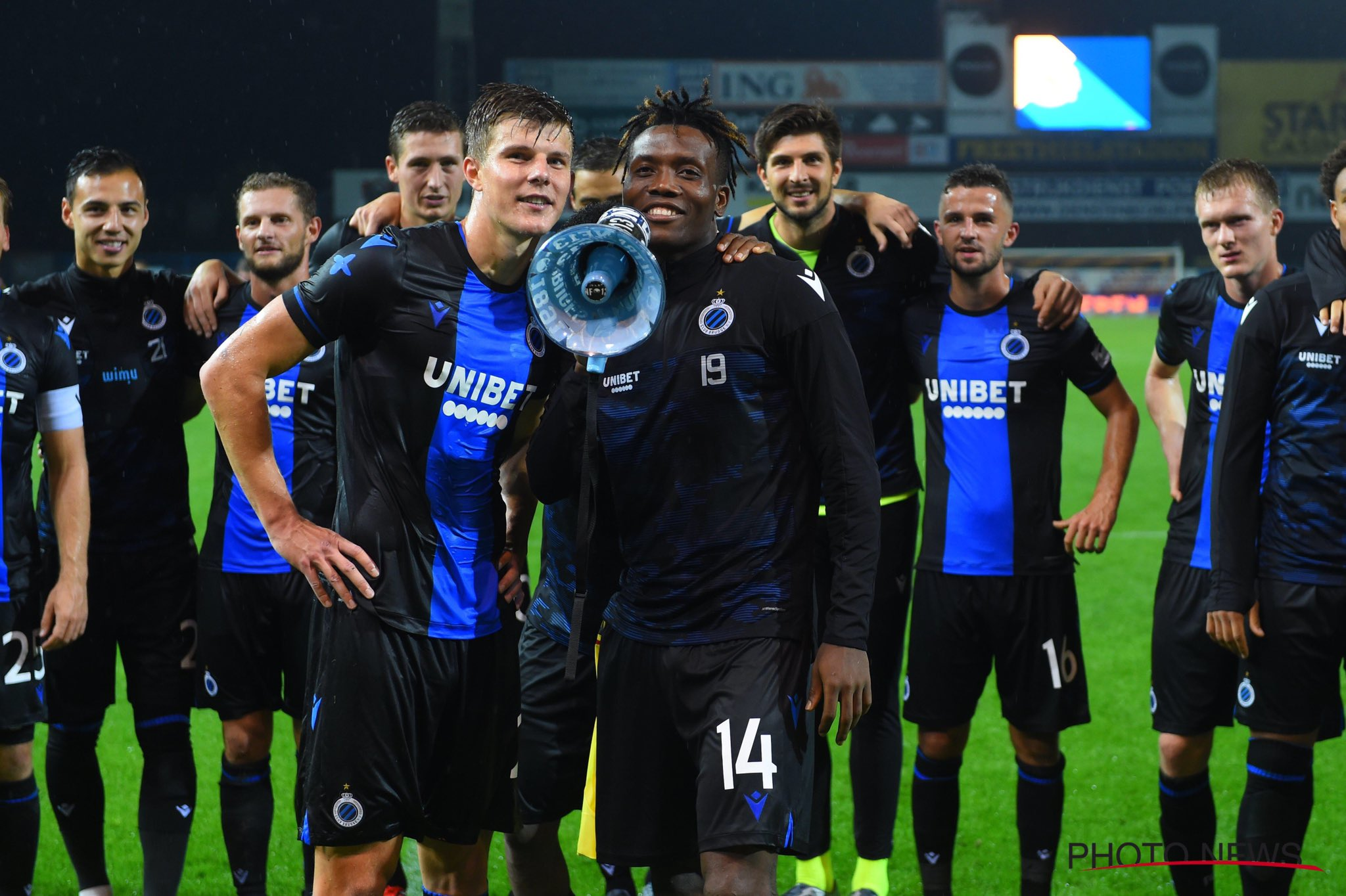 Okereke Thanks Brugge Fans For Support, Eager To Score More Goals