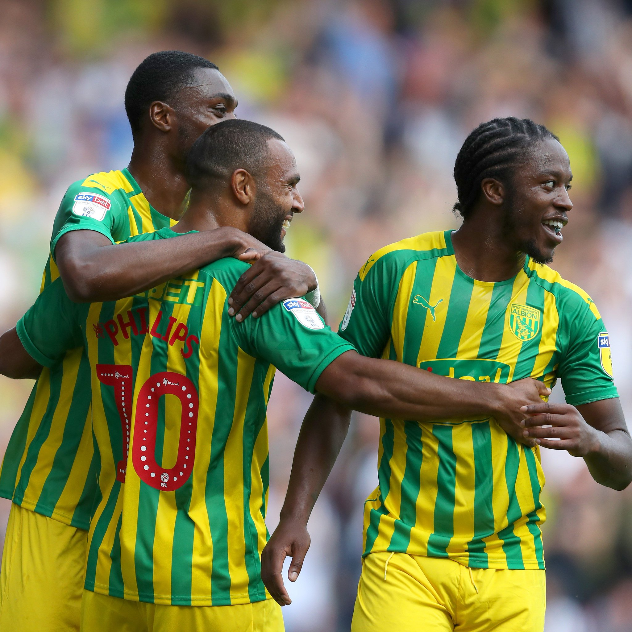 Championship: Etebo Not Listed In Stoke Defeat At Charlton, Ajayi Start In West Brom's Draw
