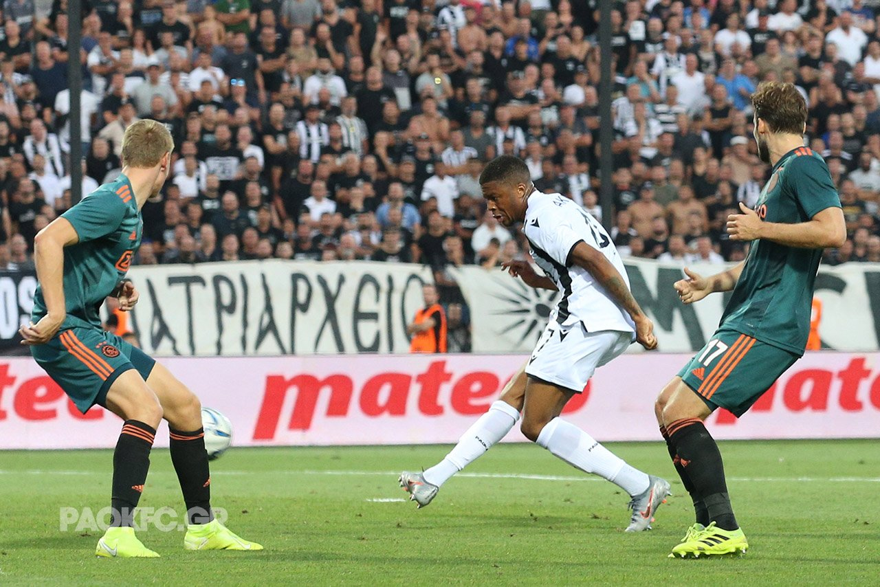UCL Qualifier: Akpom On Target, Esiti In Action As Ajax Hold PAOK In Greece