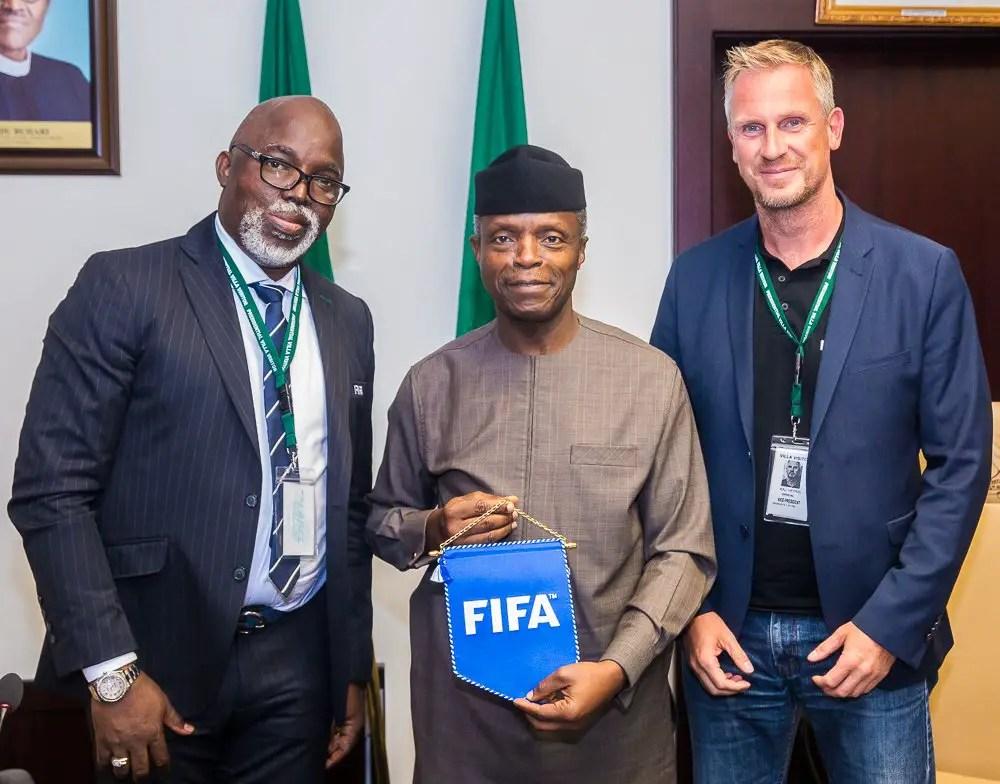Osinbajo: FG Backing Nigeria's 2020 FIFA U-20 Women's World Cup Hosting Bid
