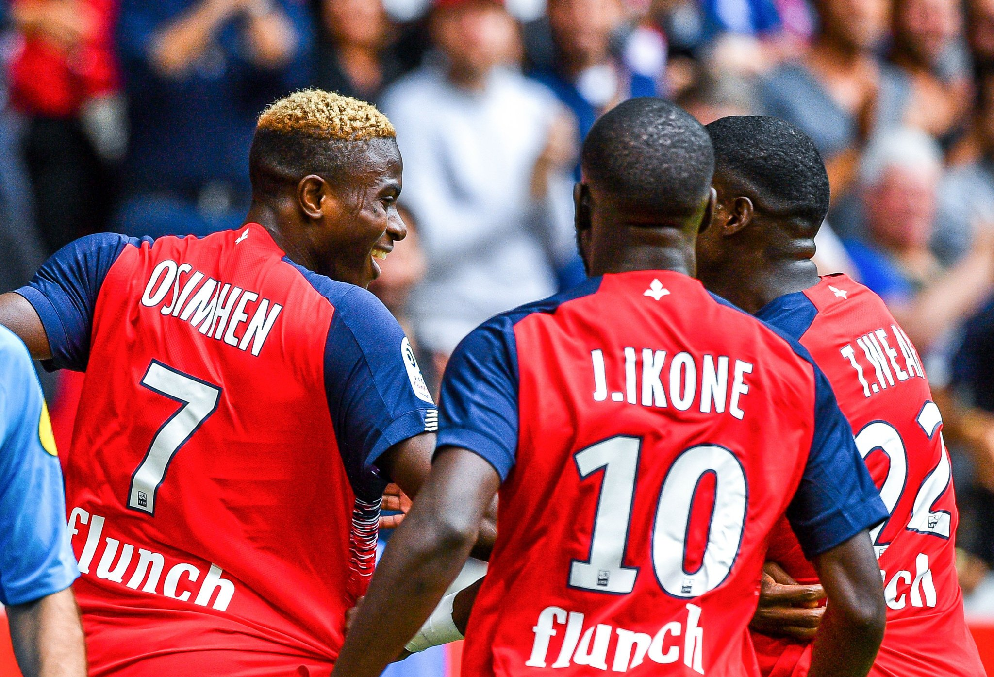 Osimhen: I'm Not 100% Fit Yet, Will Do More For Lille