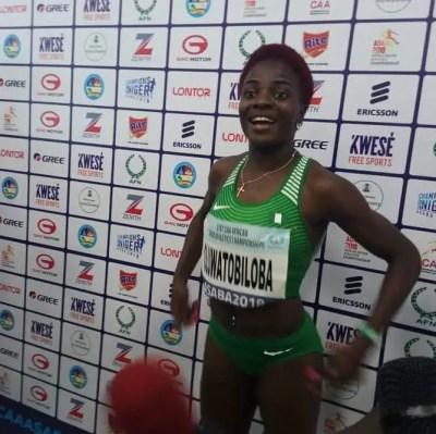 blessing-okagbare-iaaf-diamond-league-muller-grand-prix-tobiloba-amusan-athletics