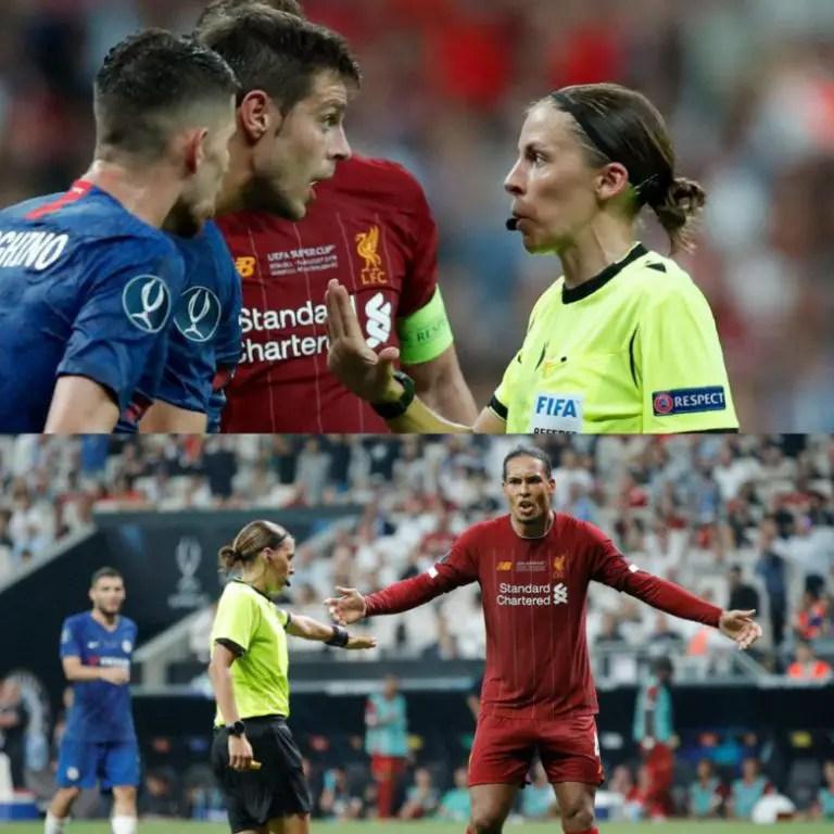 Klopp Hails Female Ref Frappart, Assistants For Brilliant UEFA Super Cup Showing