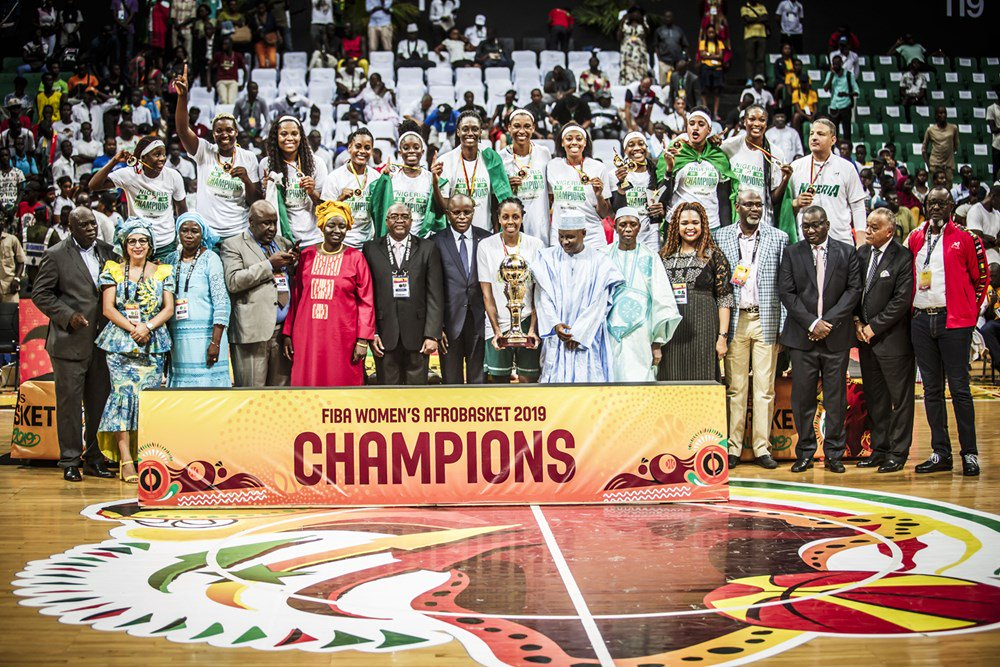 D'Tigress Beat Senegal To Win 2019 FIBA Afrobasket Championship