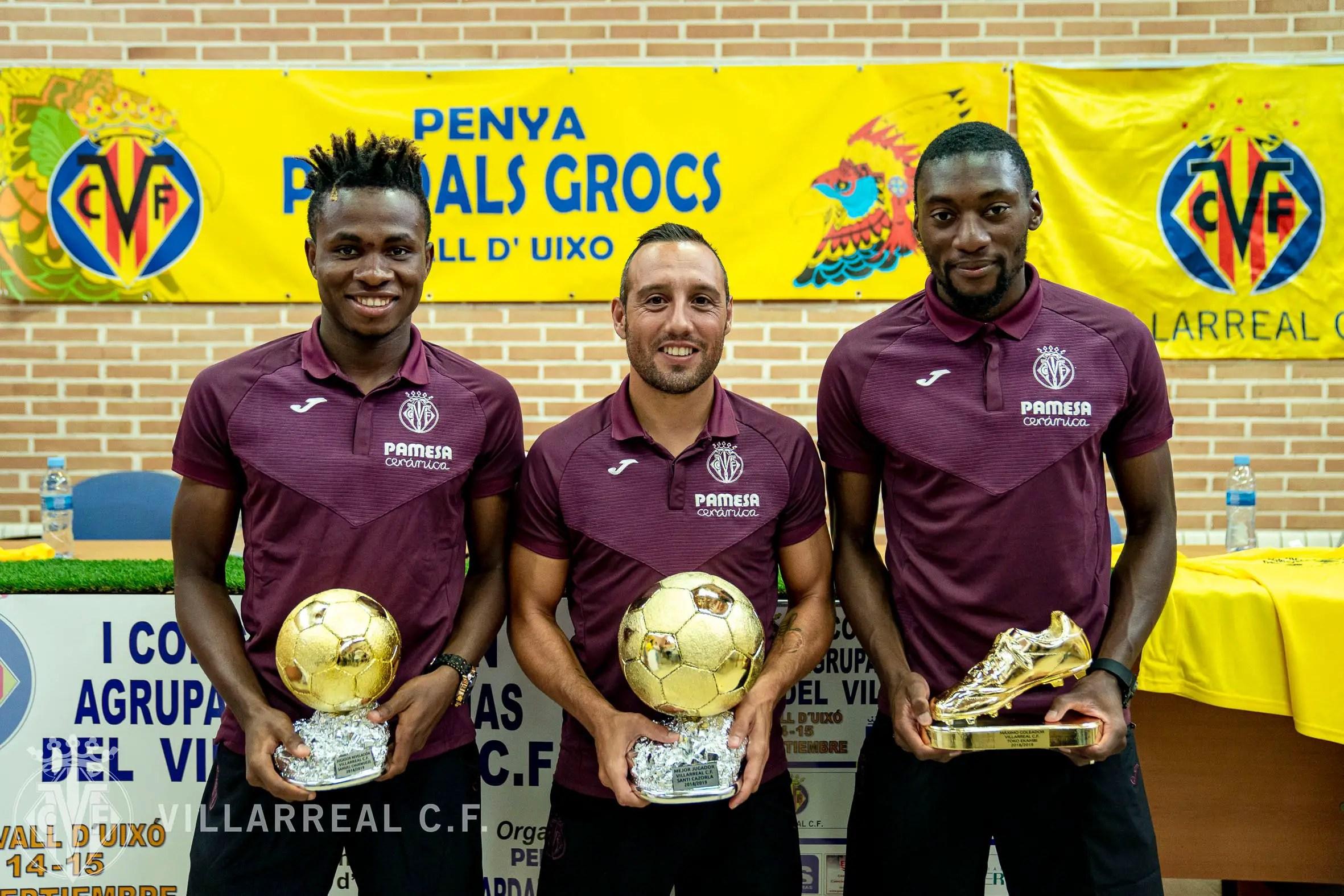 Chukwueze Wins Villarreal's  Revelation  Player Of The Season Award For 2018/2019