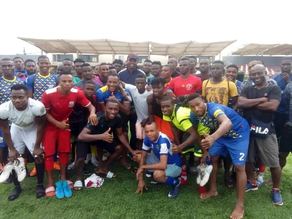 Kanu: Gov. Ihedioha Will Make Heartland One Of The Best Clubs In Africa