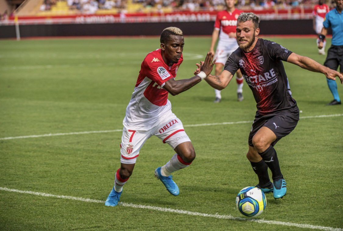 Onyekuru Happy With Performance In Monaco Home Draw Against Nimes