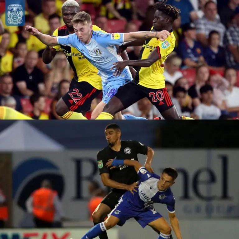 Carabao Cup: Success, Balogun Star In Watford, Brighton Wins