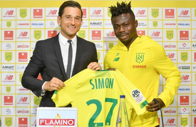 Simon Eager To Shine For FC Nantes; Coach Gourcuff Flaunts 'Exciting Player'