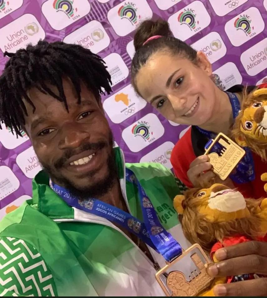 Omotayo Defeats Compatriot Quadri To Win 12th AAG Table Tennis Men's Singles Gold