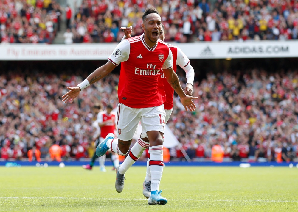 Aubameyang Up For The Fight