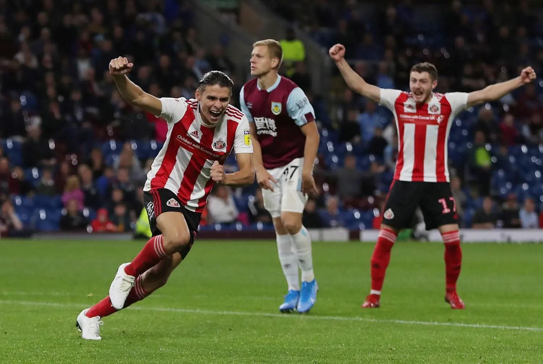 Burnley 1-3 Sunderland