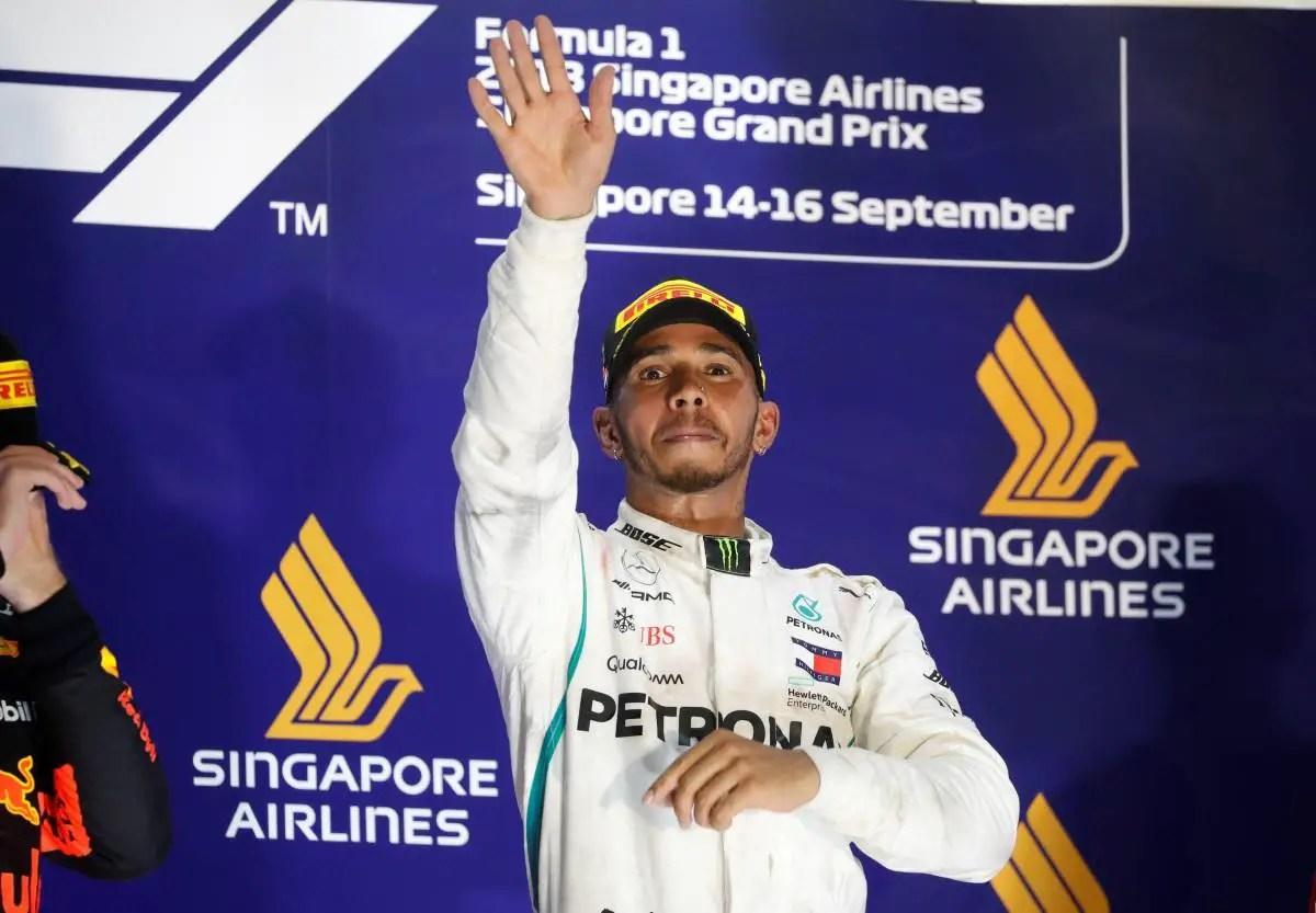 Hamilton Has Verstappen In His Sights