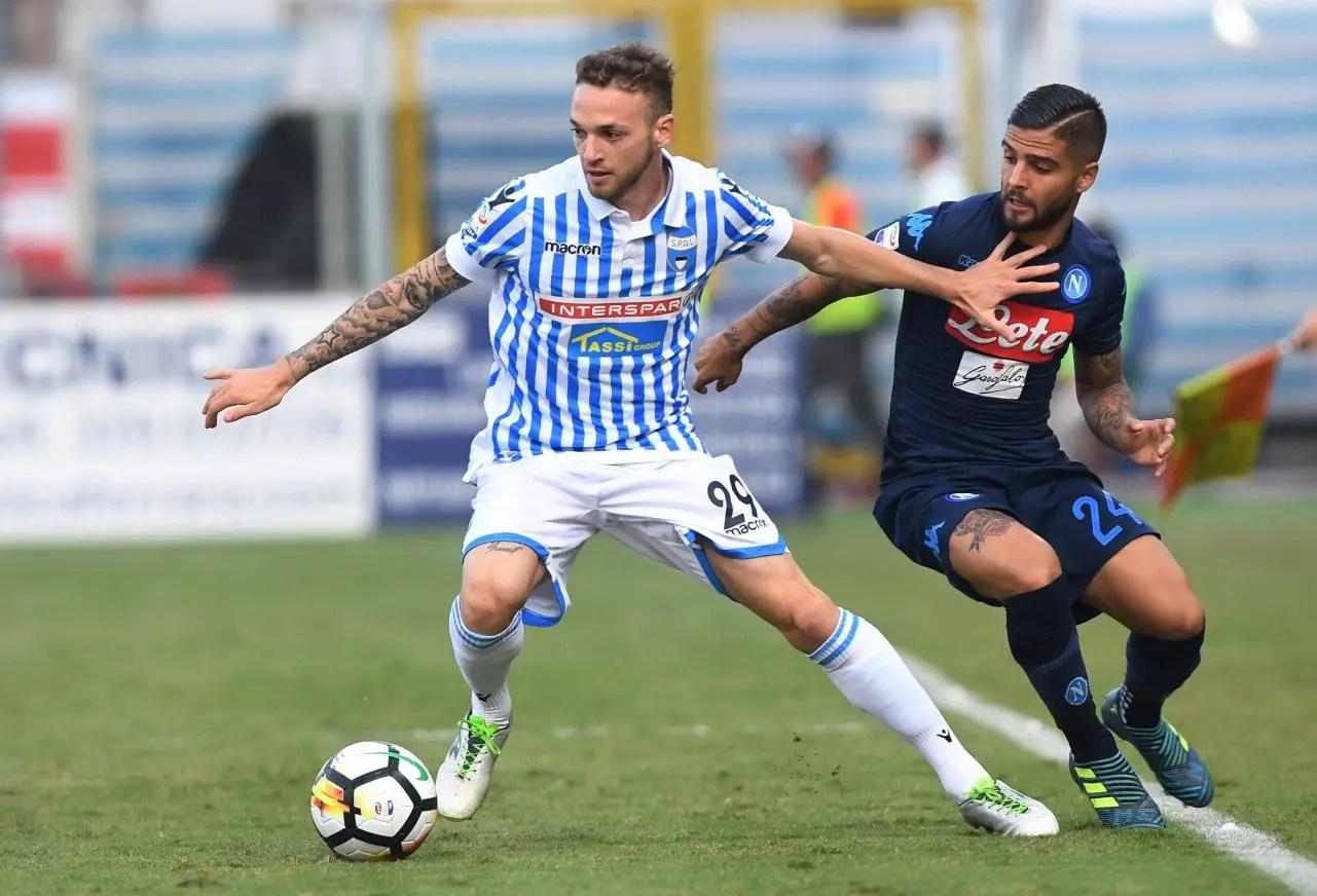 Lazio New Boy Lazzari Facing Injury Absence