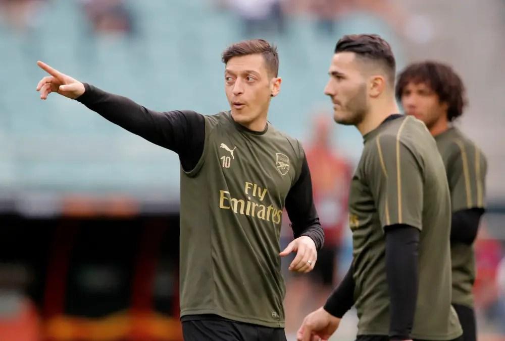 Ozil And Kolasinac Set For Burnley Returns