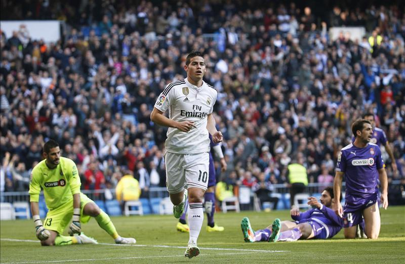 Rodriguez Delighted To Be Back At Bernabeu