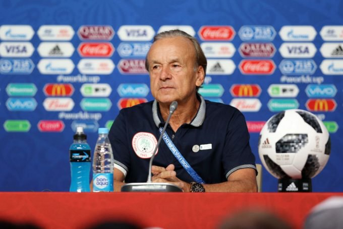 Rohr Thumbs Up  Players For Impressive Showing In Friendly Draw Against Ukraine
