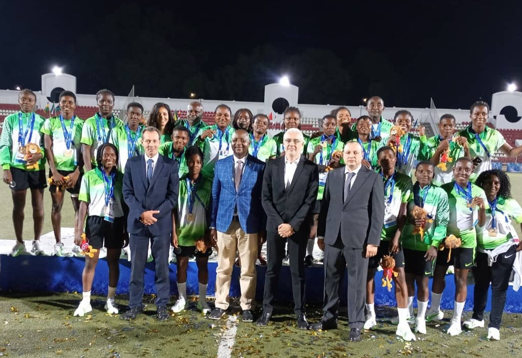 Sports Minister Dare Hails Team Nigeria's 2nd Position Feat At 12th AAG