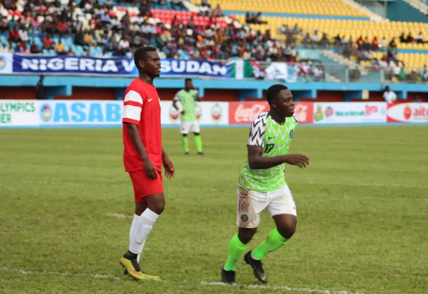 Olympic Eagles Thump Sudan 5-0, Bag U-23 AFCON Ticket