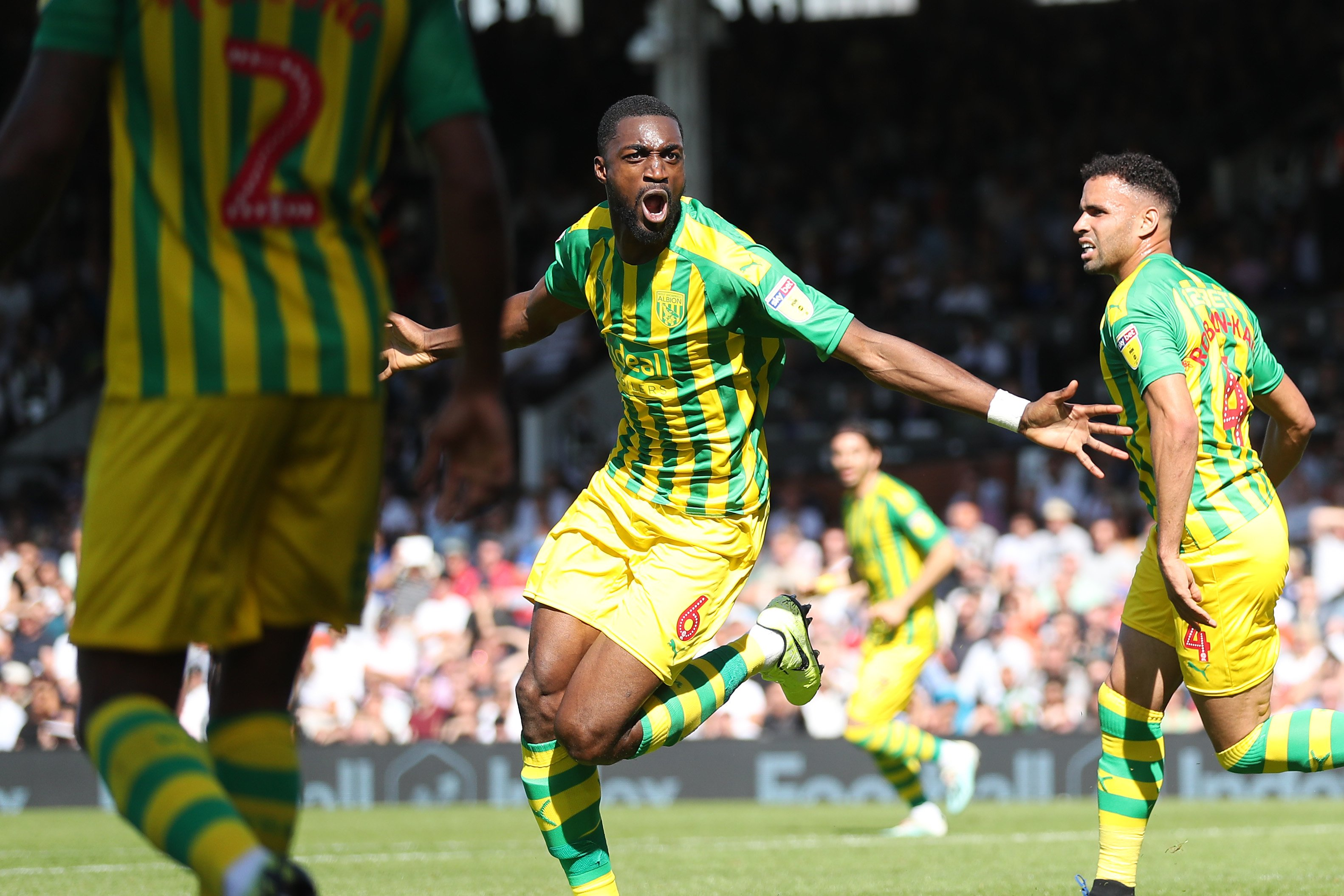 Ajayi: It's Amazing To Score My First West Brom Goal