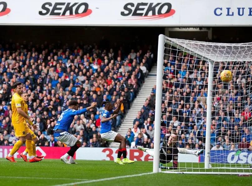 Scottish League: Aribo Bags Assist In Rangers Home Win Against Livingston