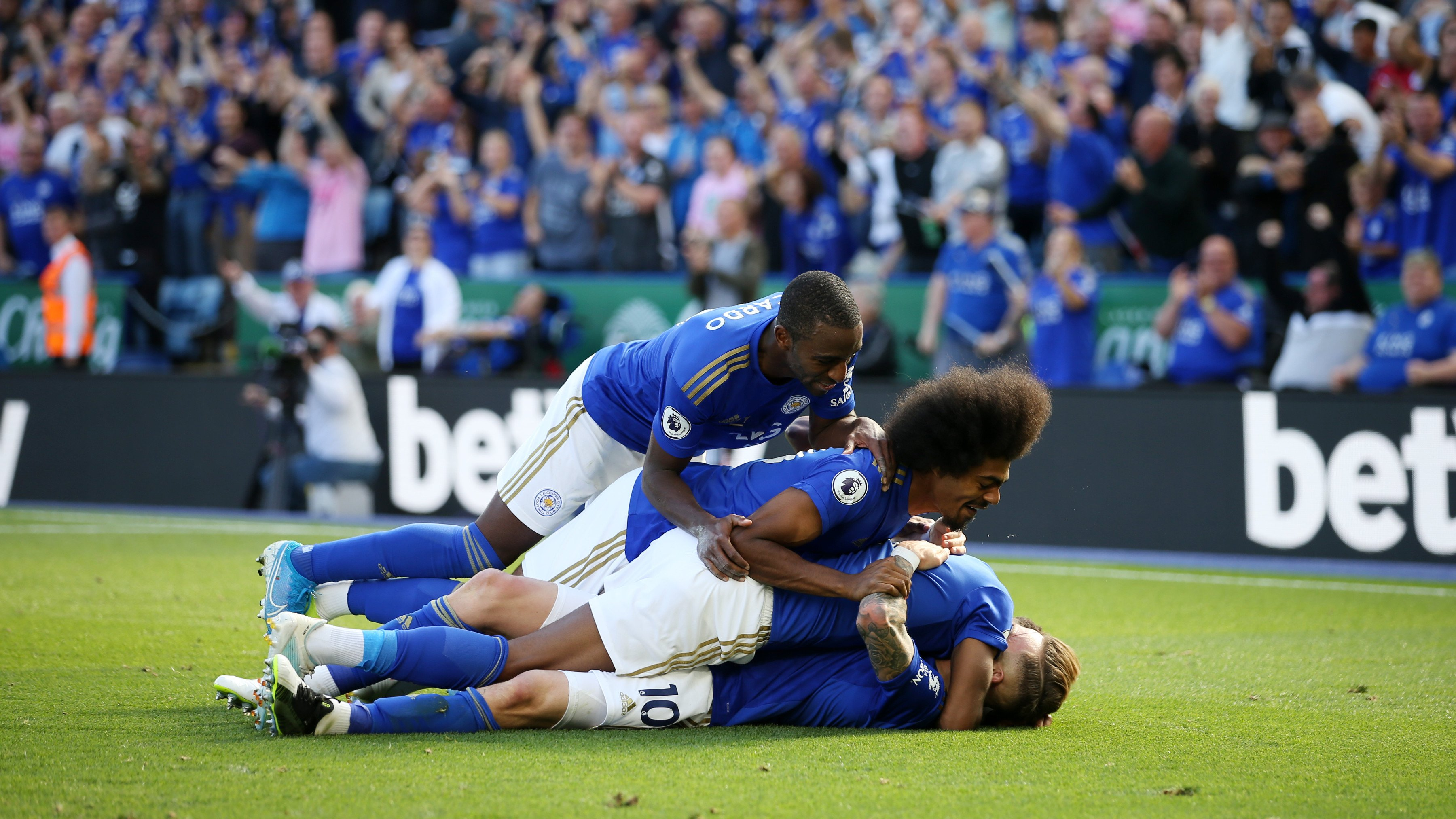 Ndidi Revels In Leicester City Massive Home Win Against Tottenham