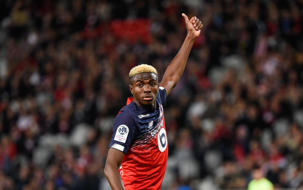 Lille Coach Galtier Believes Young Osimhen Will Do More Great Things