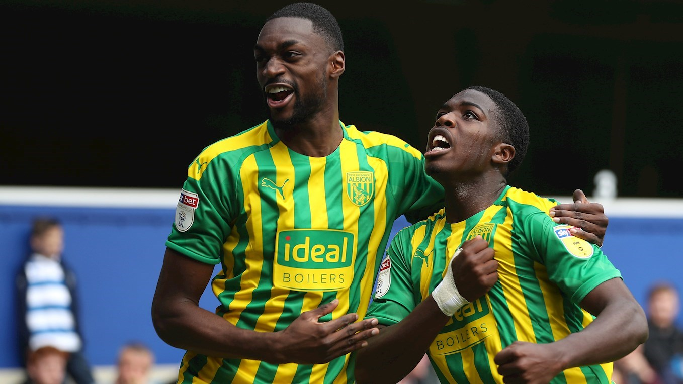Championship: Ajayi In Action As West Brom Go 9-Game Unbeaten  With 2-0 Win At QPR