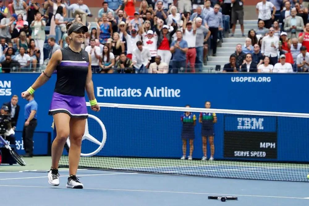 Andreescu Shocks Serena