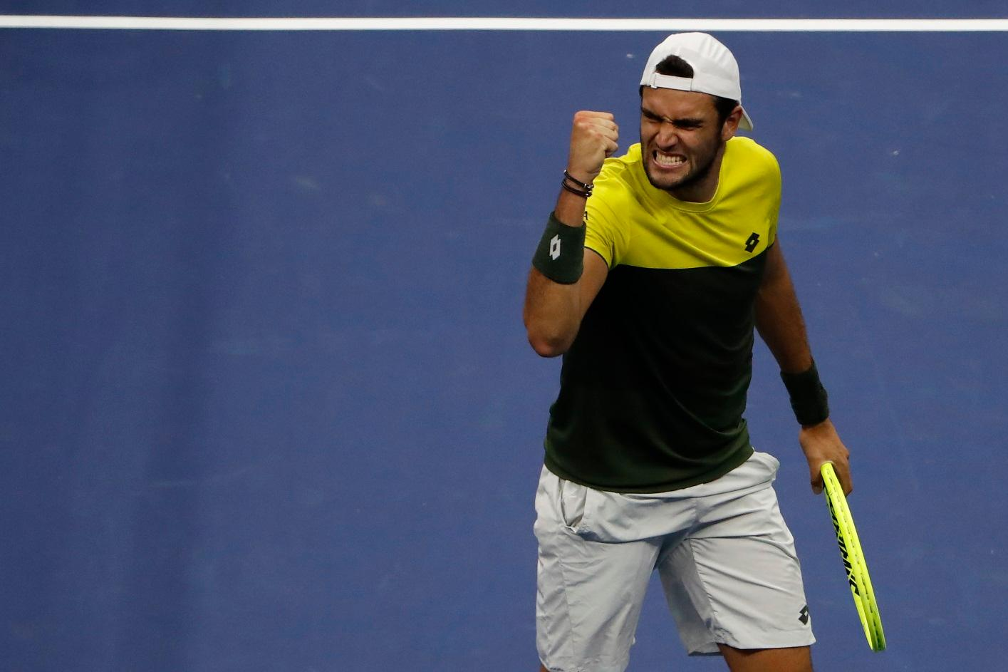 Berrettini Caught Out By US Open Success