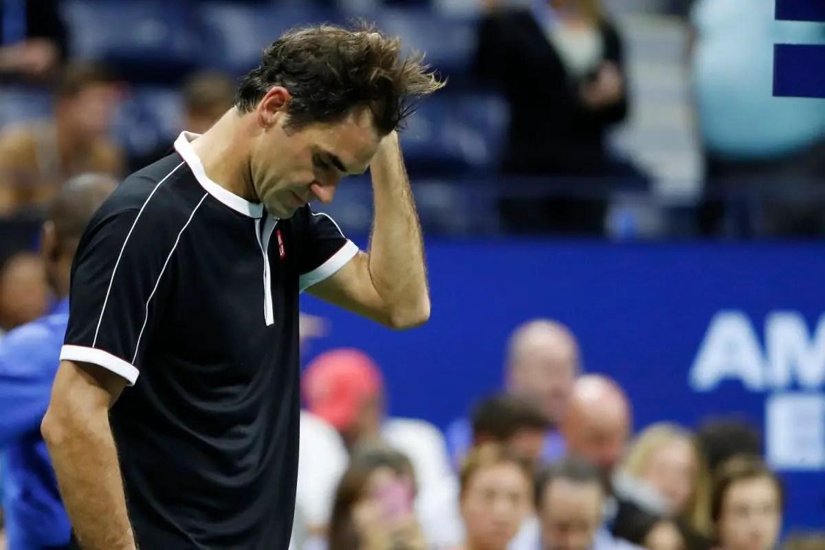 Federer Sent Packing In New York