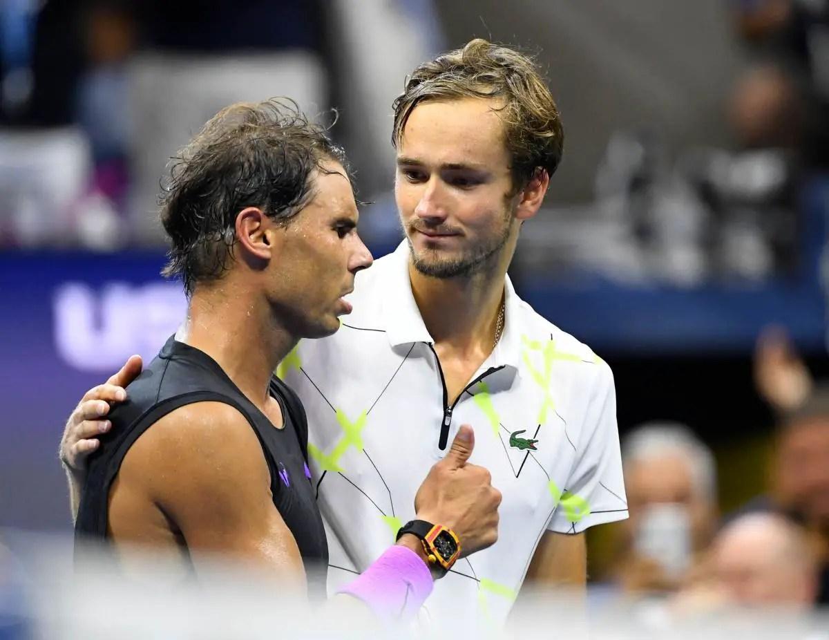 Medvedev wins Nadal praise