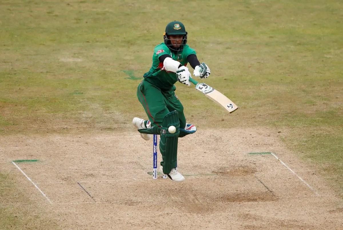 Shakib Stars In Bangladesh Victory