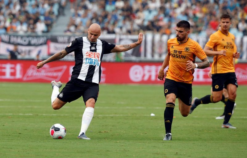 Shelvey Issues Bruce Defence
